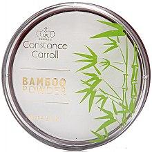 Düfte, Parfümerie und Kosmetik Mattierendes Gesichtspuder - Constance Carroll Bamboo Powder With Silk