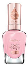 Düfte, Parfümerie und Kosmetik Nagellack mit Arganöl - Sally Hansen Color Therapy Sheer Nail Color