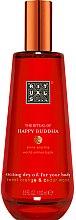 Düfte, Parfümerie und Kosmetik Vitalisierendes Körperöl mit Süßorange und Zedernholz - Rituals The Ritual of Happy Buddha Dry Oil
