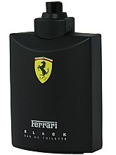 Düfte, Parfümerie und Kosmetik Ferrari Black - Eau de Toilette (Tester ohne Deckel)