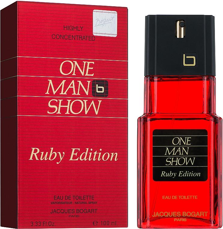 Bogart One Man Show Ruby Edition - Eau de Toilette — Bild N2
