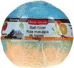 Düfte, Parfümerie und Kosmetik Badebombe orange-hellblau - Belle Nature Bath Fizzer
