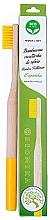 Düfte, Parfümerie und Kosmetik Bambuszahnbürste weich gelb - Biomika Natural Bamboo Toothbrush