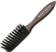 Düfte, Parfümerie und Kosmetik Bart- und Schnurrbartbürste mit Griff - Man'S Beard Beard And Mustache Brush