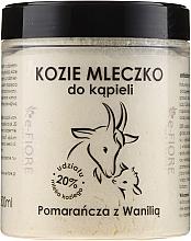 Düfte, Parfümerie und Kosmetik Ziegenmilch zum Baden mit Orange und Vanille - E-Fiore Orange And Vanilla Bath Milk