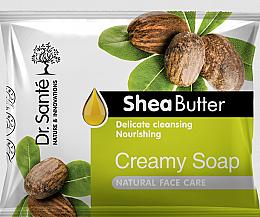 Düfte, Parfümerie und Kosmetik Pflegende Cremeseife für das Gesicht mit Sheabutter - Dr.Sante Cream Soap