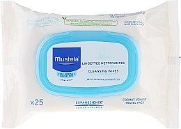 Düfte, Parfümerie und Kosmetik Reinigende Feuchttücher für Kinder - Mustela Facial Cleansing Wipes