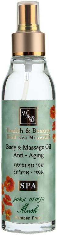 Anti-Aging Massage-Körperöl mit Moschusduft - Health and Beauty Aromatic Body Oil — Bild N1