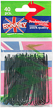 Düfte, Parfümerie und Kosmetik Haarnadeln schwarz 65 mm 40 St. - Ronney Black Hair Pins