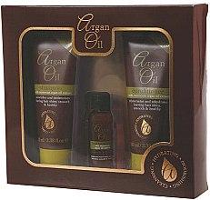 Düfte, Parfümerie und Kosmetik Haarpflegeset - Xpel Marketing Ltd Argan Oil (Shampoo 100ml + Haarspülung 100ml + Haaröl 30ml)