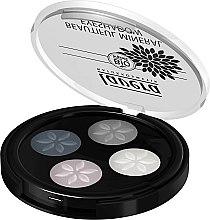 Düfte, Parfümerie und Kosmetik Lidschatten - Lavera Beautiful Mineral Eyeshadow Quattro