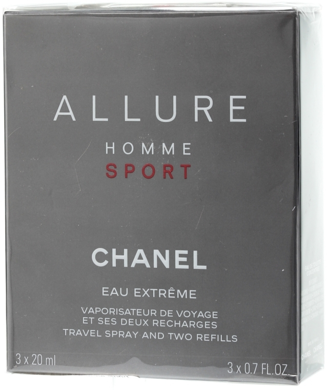 Chanel Allure Homme Sport Eau Extreme - Duftset (Eau de Toilette 20ml + Refills 2x20ml) — Bild N1
