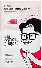 Düfte, Parfümerie und Kosmetik Gesichtspflegeset - COSRX One Step Pimple Clear Kit (Gesichtsgel 1.2ml + Gesichtspads mit BHA-Säure 5ml X2EA + Gesichtsmaske 21ml)