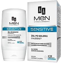 Düfte, Parfümerie und Kosmetik After Shave Gel - AA Men Sensitive After-Shave Gel Cooling