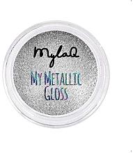 Düfte, Parfümerie und Kosmetik Nagelpuder Matellic Gloss - MylaQ My Matellic Gloss