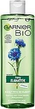Düfte, Parfümerie und Kosmetik Beruhigendes mizellares Kornblumenwasser für Gesicht - Garnier Bio Soothing Cornflower Micellar Water