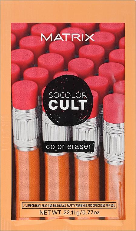 Farbentferner von der Kopfhaut - Matrix SoColor Cult Color Eraser