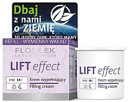 Düfte, Parfümerie und Kosmetik Straffende und festigende Anti-Falten Gesichtscreme mit Lifting-Effekt - Floslek Lift Effect Filling Cream (Austauschbare Patrone)