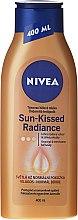 Düfte, Parfümerie und Kosmetik Bodylotion mit leichtem Selbstbräunereffekt - Nivea Body Bronze Effect Light