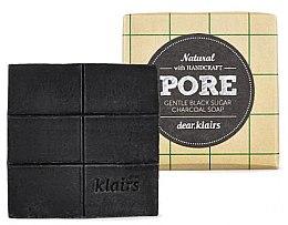 Düfte, Parfümerie und Kosmetik Zuckerseife mit Aktivkohle - Klairs Gentle Black Sugar Charcoal Soap