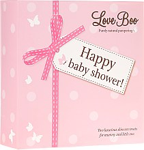 Düfte, Parfümerie und Kosmetik Love Boo Happy Baby Shower - Duschgel-Set (Duschgel/250ml + Duschgel/250ml)