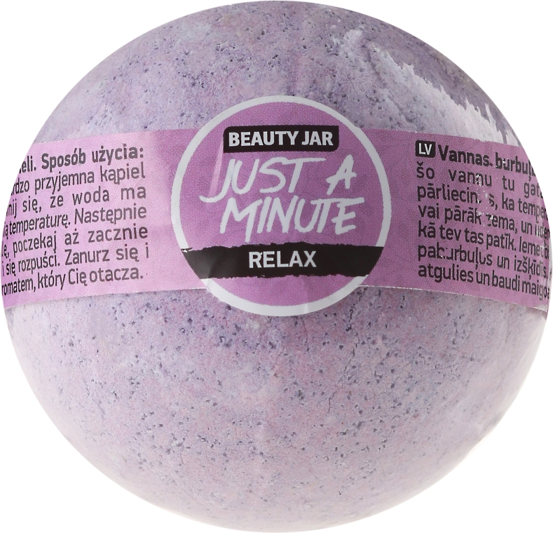 """Badebombe """"Just a minute"""" - Beauty Jar Just Minute"""