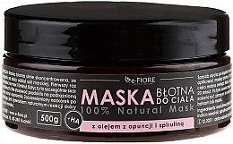 Düfte, Parfümerie und Kosmetik Schlammmaske für den Körper mit Spirulina und Kaktusöl - E-Fiore Body Mask With Spirulina, Opuntia Oil And HA Acid
