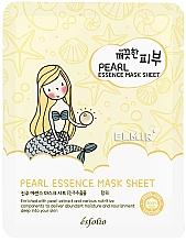 Düfte, Parfümerie und Kosmetik Aufhellende Tuchmaske für das Gesicht mit Perlenextrakt - Esfolio Essence Mask Sheet