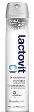 Düfte, Parfümerie und Kosmetik Deospray Antitranspirant - Lactovit Invisible Deodorant Spray