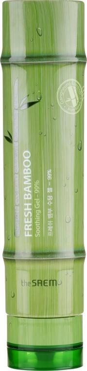 Beruhigendes Körpergel mit 99% Bambusextrakt - The Saem Fresh Bamboo Soothing Gel 99%