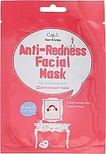 Düfte, Parfümerie und Kosmetik Tuchmaske gegen Rötungen für empfindliche Haut - Cettua Anti-Redness Facial Mask