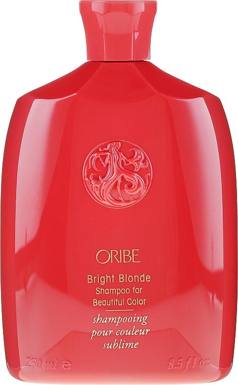 Shampoo für blondes Haar - Oribe Bright Blonde For Beautiful Color Shampoo — Bild N2