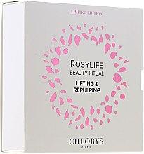 Düfte, Parfümerie und Kosmetik Gesichtspflegeset - Chlorys Rosylife Beauty Ritual (Nachtcreme 10ml + Tagescreme 12ml + Gesichtsserum 10ml)