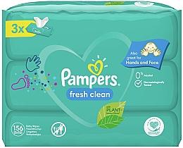 Düfte, Parfümerie und Kosmetik Feuchte Babytücher Baby Fresh Clean 3x52 St. - Pampers