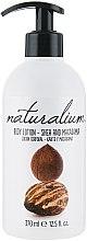 Düfte, Parfümerie und Kosmetik Nährende Körperlotion mit Sheabutter und Macadamia - Naturalium Body Lotion