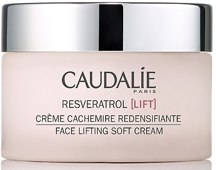 Leichte Feuchtigkeitscreme mit Lifting-Effekt - Caudalie Resveratrol Lift Face Lifting Soft Cream
