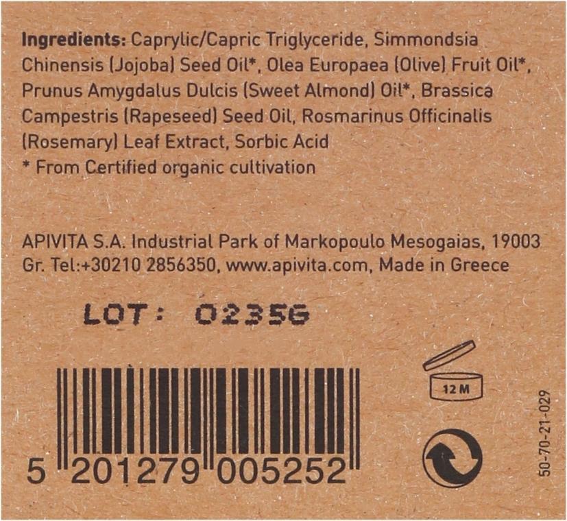 Bio-Massageölmischung - Apivita Organic oil blend — Bild N3