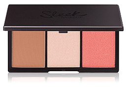 Düfte, Parfümerie und Kosmetik 2in1 Highlighter- und Rougepalette - Sleek MakeUP Face Form Contouring and Blush Palette