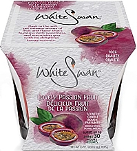 Düfte, Parfümerie und Kosmetik Duftkerze Passionsfrucht - White Swan Lovely Passion Fruit