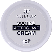 Düfte, Parfümerie und Kosmetik Beruhigende After Shave Creme - Hristina Cosmetics Soothing After Shave Cream