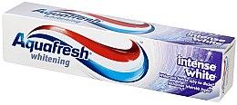 Düfte, Parfümerie und Kosmetik Zahncreme mit aufhellendem Effekt - Aquafresh Whitening Intense White Toothpaste
