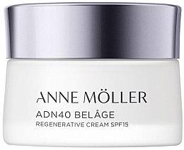Düfte, Parfümerie und Kosmetik Regenerierende Gesichtscreme für normale und Mischhaut SPF 15 - Anne Moller ADN40 Belage Regenerative Cream SPF15