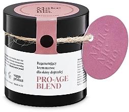 Düfte, Parfümerie und Kosmetik Anti-Aging Nachtcreme für reife Haut - Make Me BIO Anti-Aging Night