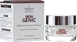 Düfte, Parfümerie und Kosmetik Anti-Aging Zellcreme für die Nacht - Farmona Professional Skin Genic