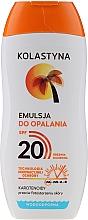 Düfte, Parfümerie und Kosmetik Wasserdichte Sonnenschutzemulsion SPF 20 - Kolastyna Suncare Emulsion SPF20