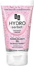 Düfte, Parfümerie und Kosmetik Feuchtigkeitsspendendes Gesichtswaschgel für trockene und normale Haut - AA Hydro Sorbet Moisturizing Face Wash Gel