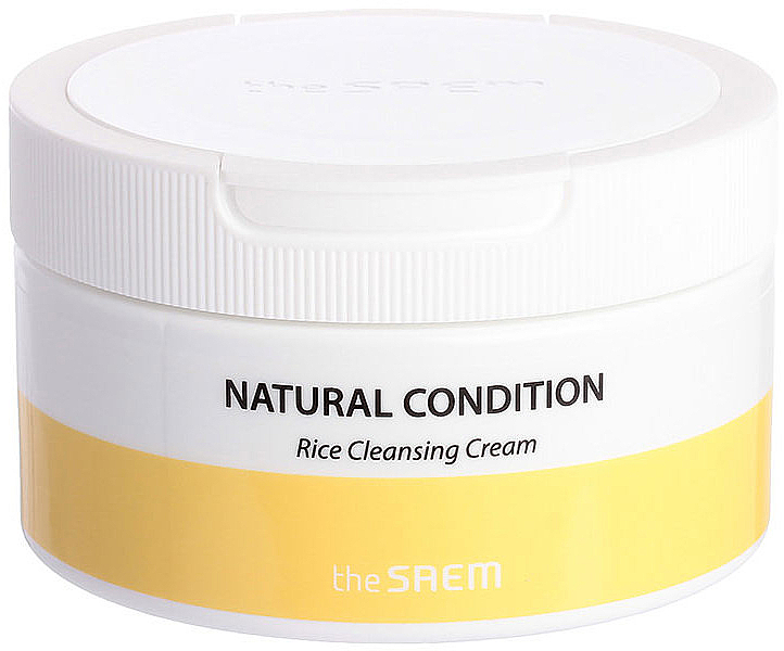 Reinigungscreme für das Gesicht mit Reisextrakt - The Saem Natural Condition Rice Cleansing Cream