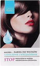 Düfte, Parfümerie und Kosmetik Feuchtigkeitsspendende und glättende Haarmaske - Czyste Piękno