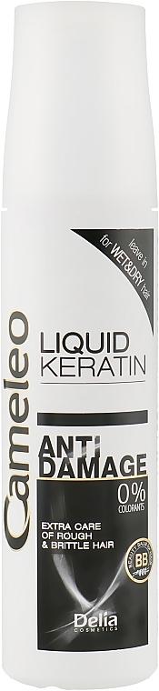 Flüssiges Keratin für strapaziertes Haar - Delia Cameleo Keratin