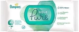 Düfte, Parfümerie und Kosmetik Feuchte Babytücher 48 St. - Pampers Aqua Pure Wipes